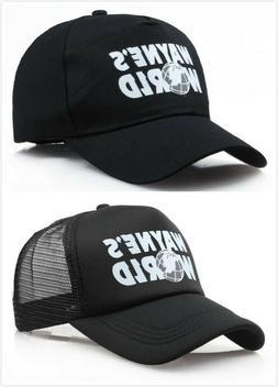 Wayne's World Hat Party Cosplay Trucker Hats Waynes World Ha
