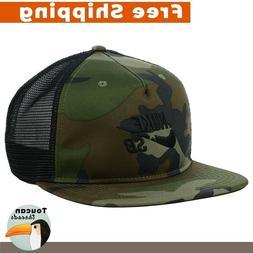NIKE SB Camo Star Trucker Cap Snapback Mesh Green Hat New Su
