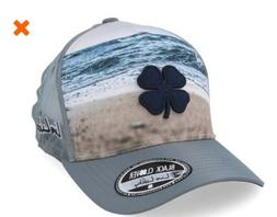 Black Clover Shoreline 2 Grey Trucker Bear Lake Hat Snapback