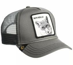 SILVER FOX Goorin Bros. Animal Farm Trucker Hat New