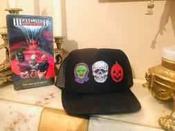 silver shamrock halloween 3 custom trucker hat