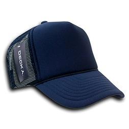 DECKY Solid Trucker Cap, Navy