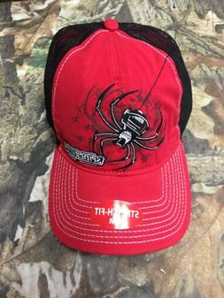 Spider Wire Headwear Hat Cap Stretch Fit Size Small Medium S