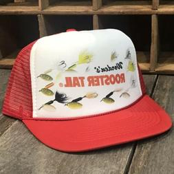 3d71b6f550dad Spinner Lure Trout Fishing Trucker Hat Vintage 80 s Snapba