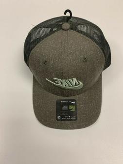 NIKE SPORTSWEAR CLASSIC99 SNAPBACK TRUCKER HAT CAP -Olive -