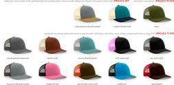 ss Richardson 115 Trucker, Baseball Cap, Meshback Hat, Snapb