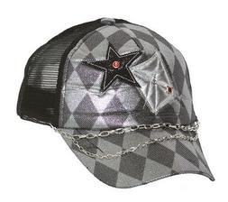 Clover Stars with Checkered Diamonds Trucker Hat