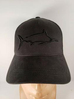 Costa Del Mar Stealth Marlin Trucker Hat, Black