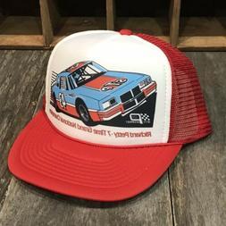 STP Nascar Racing Team Vintage 80's Trucker Hat Richard Pe