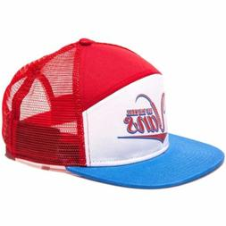 Vans Off The Wall Suds 6 Panel Red White Blue Trucker Snapba