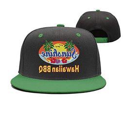 ASWEQ Sunshine Hawaiin BBQ Trucker Hat Baseball Team Cap