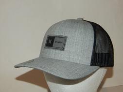 Hurley The Regular Trucker Hat / Cap Mesh Snapback Grey / Bl