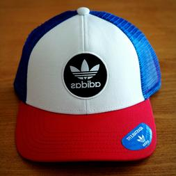 adidas Trefoil Trucker Caps Hat Black Baseball Sports Casual