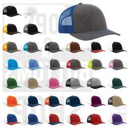 Richardson Trucker Ball Cap Meshback Hat Snapback Cap Trucke