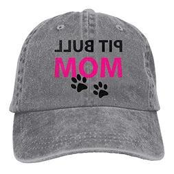 Trucker Baseball Hat Pit Bull Mom Polo Cowboys Caps Unisex A