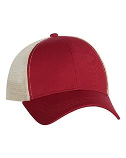Econscious - Trucker Cap - 7070 - Adjustable - Red/ Oyster