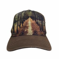 Prana Trucker Cap Mountain Woods Narrow Path Hat SnapBack Ad
