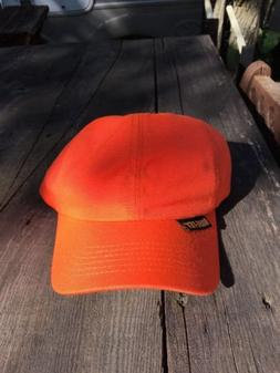 trucker hat baseball cap Blaze Orange Hunting Thinsulate 40