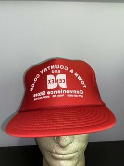 Trucker Hat Baseball Cap Vintage Snapback Mesh Cenex Finley