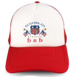 Trucker Hat Cap Foam Mesh All American Dad Father Father's D
