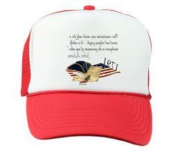 Trucker Hat Cap Foam Mesh John Adams Our Constitution Moral
