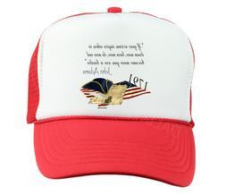Trucker Hat Cap Foam Mesh John Adams If Your Actions Inspire