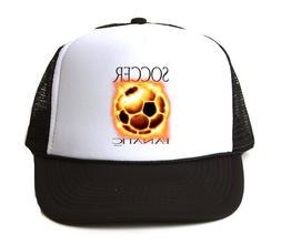 Trucker Hat Cap Foam Mesh Soccer Fanatic Fan Design Sports