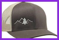 Lindo Trucker Hat Great Outdoors Collection By BROWN/Tan One