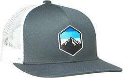 LINDO Trucker Hat - Mountain Sky, Graphite/White, Size  X3Pt