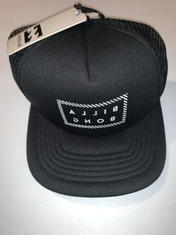 Billabong Trucker Hat SnapBack -  Black/ White NWT