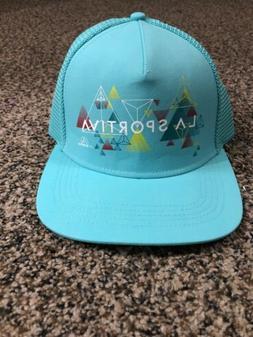 La Sportiva Trucker Hat Vertriangle Mint! Women's! New! Si