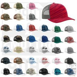 trucker patterned snapback cap baseball hat 112p