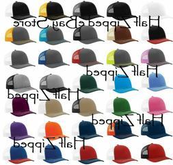 Richardson Trucker Snapback Cap 112 Baseball Hat 80 Colors!!