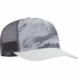 trucker sun runner hat white one size