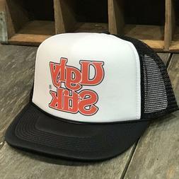 Ugly Stik Fishing Trucker Hat  Logo! Vintage 80's Style Sn