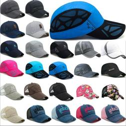 Unisex Trucker Hats Mesh Breathable Baseball Golf Snapback C