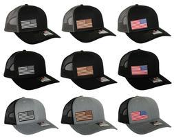 USA American Flag Hat US Trucker Cap Richardson 112 SnapBack