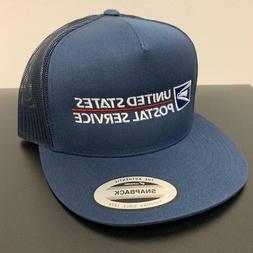 USPS Trucker Mesh Snapback Cap United States Postal Service