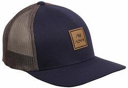 RVCA VA All The Way Curved Brim Trucker Hat - Navy - New