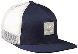 RVCA VA All The Way Print Trucker Hat - Navy - New