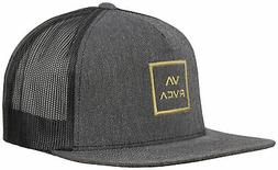 RVCA VA All The Way Trucker Hat - Dark Charcoal Heather - Ne