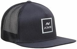 RVCA VA All The Way Trucker Hat - Navy / Blue - New