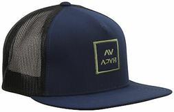 RVCA VA All The Way Trucker Hat - Navy Heather - New