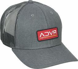 RVCA VA Sport Mens Ticket Trucker II Snapback Hat - Charcoal