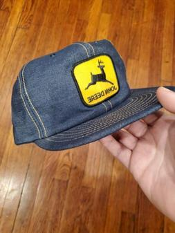 Vintage 70s 80s John Deere Louisville Mfg Denim Patch Trucke