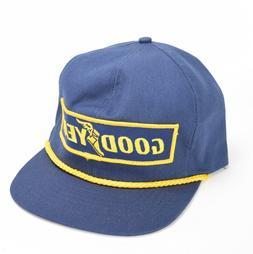VINTAGE 80'S GOOD YEAR AUTO RACING SNAPBACK TRUCKER HAT USA