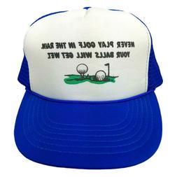 VINTAGE Funny Golf Humor Novelty Snapback Trucker Hat Cap Ra