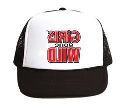 vintage Girls Gone Wild hat Trucker Hat mesh hat black New