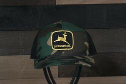 Vintage John Deere Patch on a Richardson 112 Trucker Snapbac