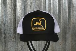 Vintage John Deere Patch on a Pacific 104C Trucker Snapback